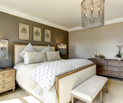 Photo of luxury bedroom. Real Estate in Germantown, WI | House to Home Realty Team