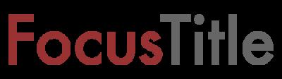 focus title logo