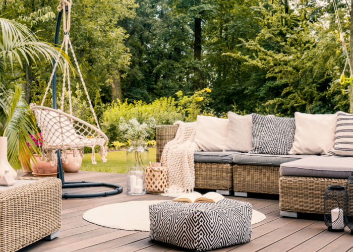 Boho and Minimalism Top Our List of 2019 Outdoor Living Trends
